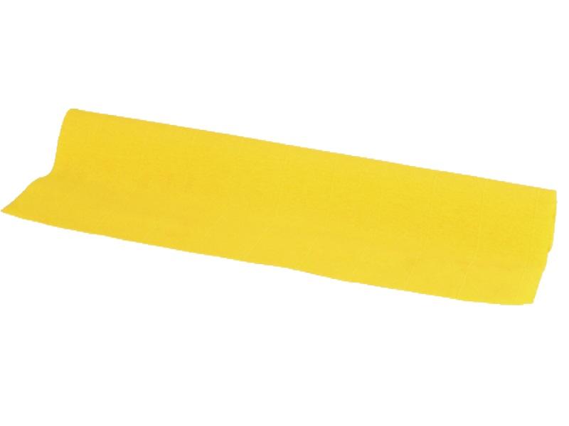 5 Rollen Floristen Krepppapier je 250cm, Farbe  Farbe GELB