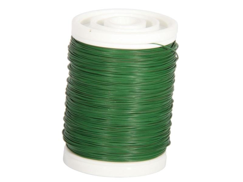 Mythendraht Basteldraht 100 g,  Farbe Grün