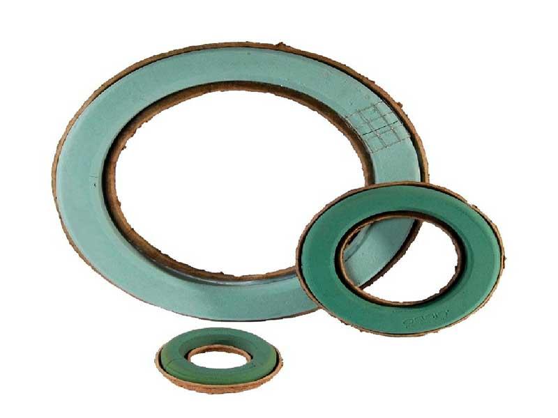 OASIS Hochwertige Biolit Ringe Ø 32 cm