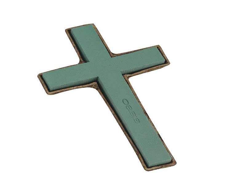 OASIS Hochwertige Biolit Kreuz Höhe 42 cm