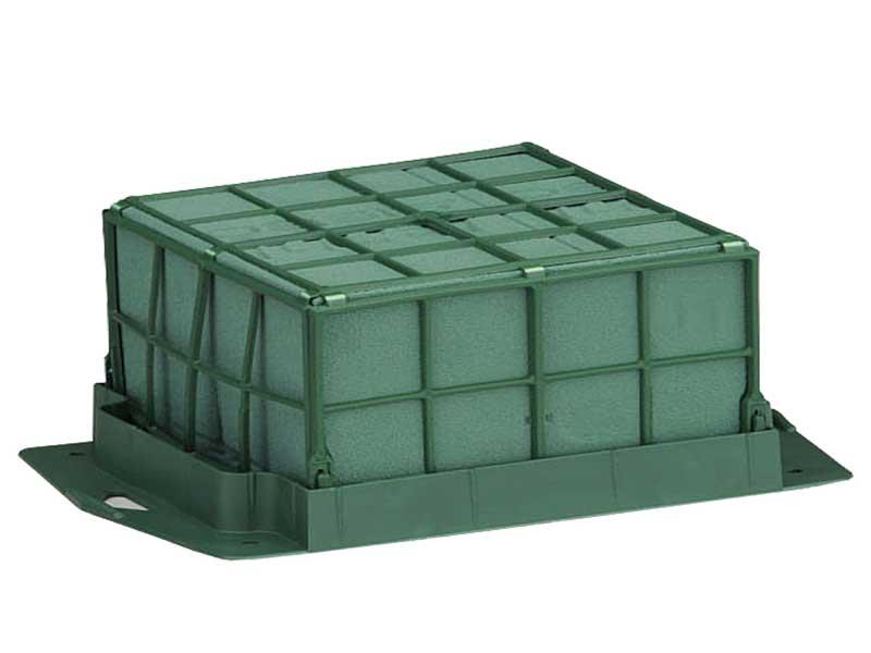 OASIS - Dekorette Petite mit Klebestreifen Steckschaum L18B12H8,5cm