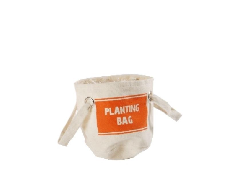 Kräuter-Beutel Planting Bag ORANGE 11x11cm