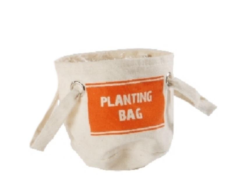 Kräuter-Beutel Planting Bag ORANGE 16x16cm