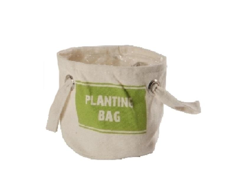 Kräuter-Beutel Planting Bag GRÜN 16x16cm