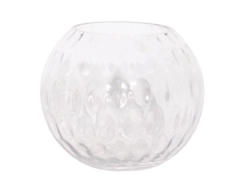 Kugelvase `Bubbles`  (Höhe 17 cm - Ø 20 cm)