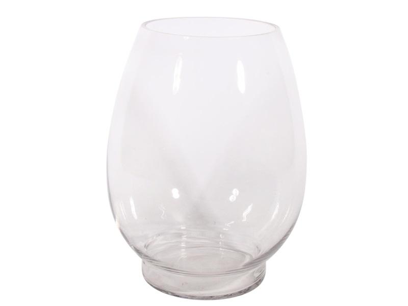 Glasvase Blumenvase `Buik` H20/Ø14 cm