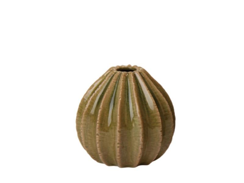Blumenvase Vase Janga grün 12,5x12cm