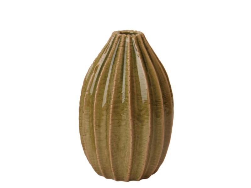 Blumenvase Vase Janga grün 13x19,5cm