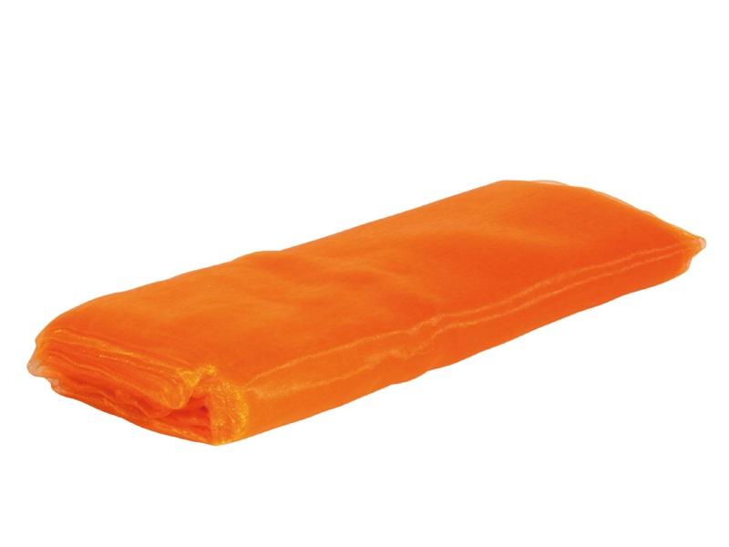 Organza Dekostoff -  Tischläufer, Tischdeko 150cm x 300cm, Farbe Farbe  Orange