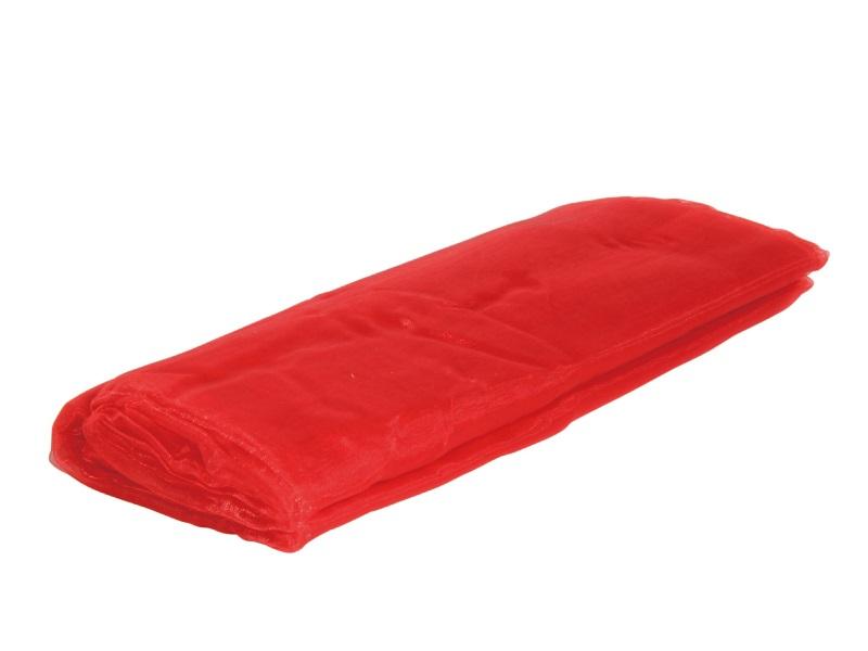 Organza Dekostoff -  Tischläufer, Tischdeko 150cm x 300cm, Farbe Farbe  Rot