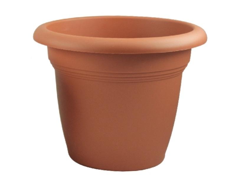 "Pflanzenkübel ""CAMPANA"" aus Kunststoff in Terracotta Ø 40 cm"