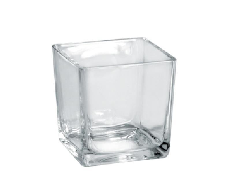 Glasschale CUBE Dekoglas  (12x12 x 12 cm