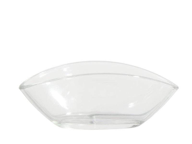 Glasschale Schale  (Breite 16,5 - Tiefe 8 cm - Höhe 6,5 cm)