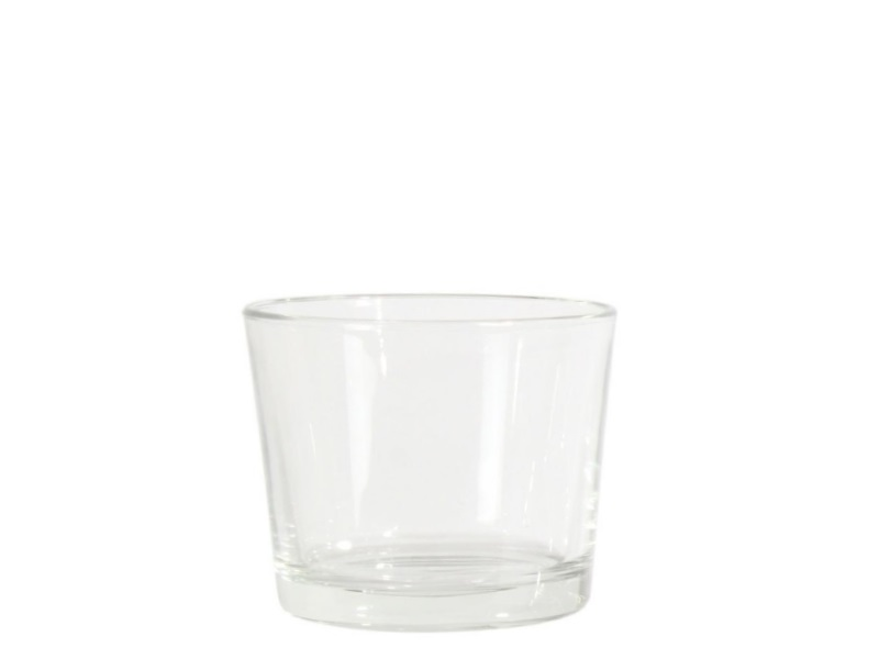 Glaszylinder Glasvase Blumenvase  (Höhe 11 cm - Ø 9,5 cm)