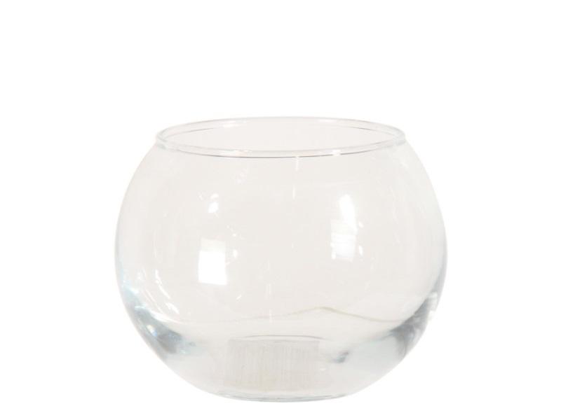 Kugelvase aus Glas BOLD  (Höhe 7 - Ø 9,5 cm)