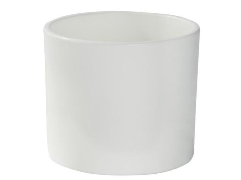 "Pflanzenkübel ""ZYLINDRO"" aus Keramik  Ø 11 cm, Farbe Vanille Matt"