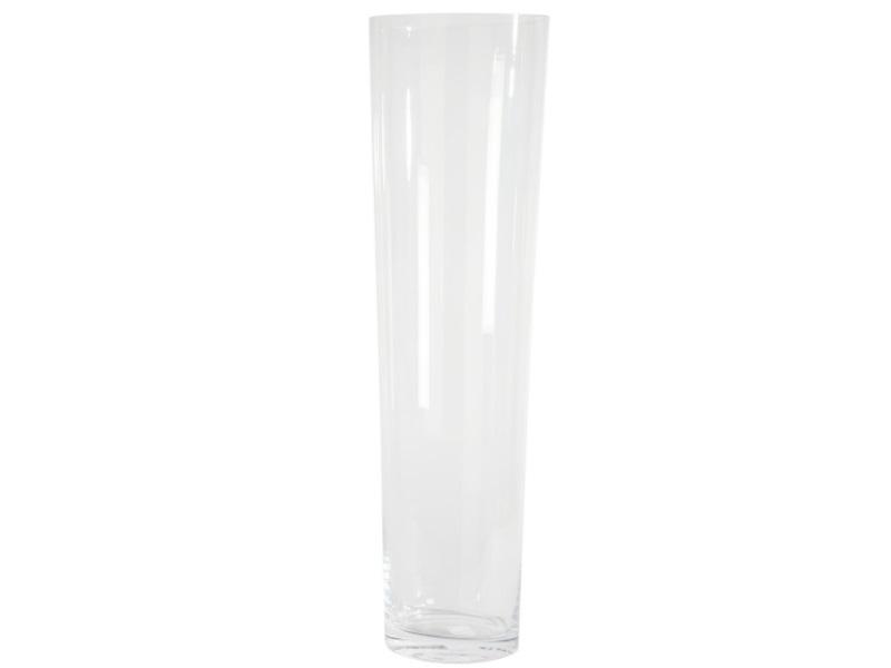 Glasvase Blumenvase CONICAL  (Höhe 70 cm - Ø 19,5 cm)