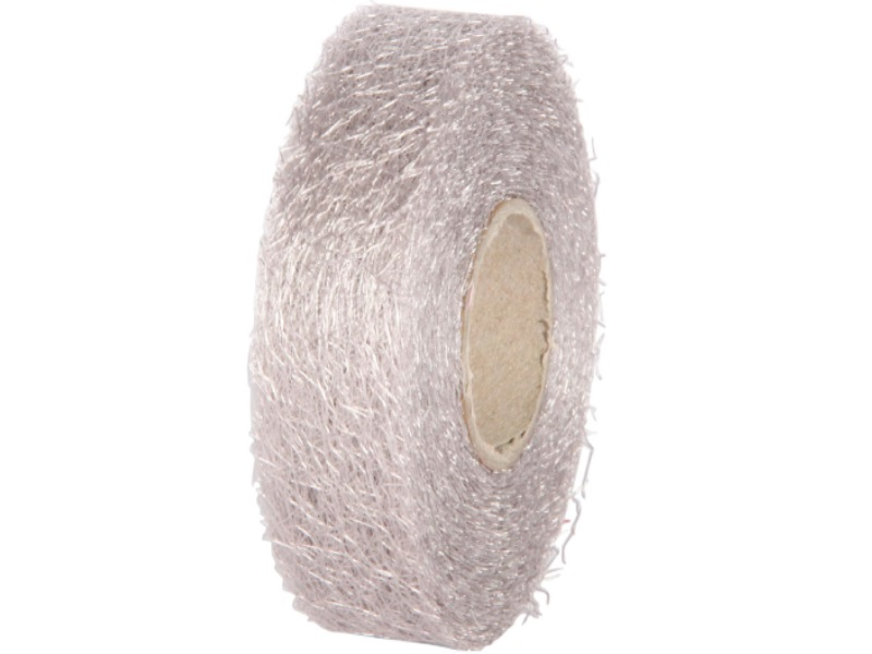 "Qualitäts-Dekoband ""Ragnatela"" Schleifenband 25mm x 25m, Farbe Farbe Grau"