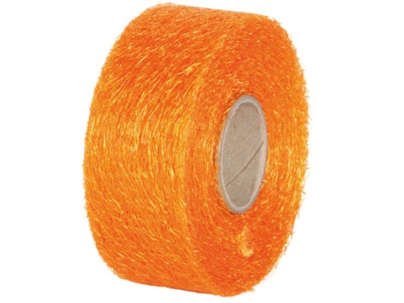 "Qualitäts-Dekoband ""Ragnatela"" Schleifenband 40mm x 25m, Farbe Farbe Orange"