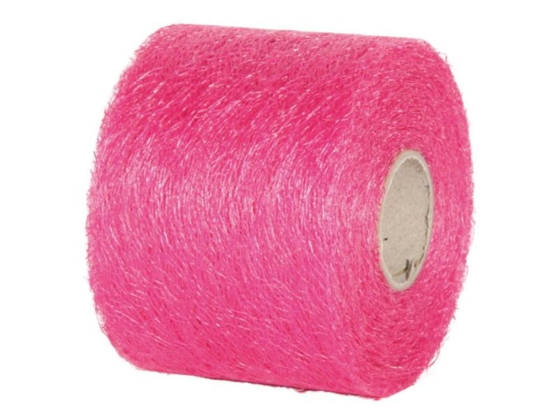"Qualitäts-Dekoband ""Ragnatela"" Schleifenband 70mm x 25m, Farbe Farbe Pink"