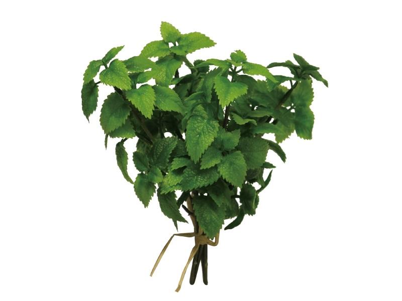 3er Minze Bund Kräuterbund (Kunstpflanze) grün Höhe 24cm