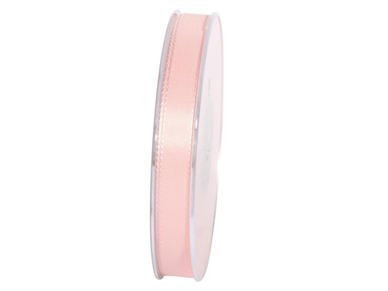 Dekoband Geschenkband Taftband Schleifenband - Länge 50m x15mm, Farbe Rosa