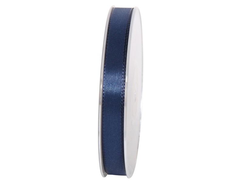 Dekoband Geschenkband Taftband Schleifenband - Länge 50m x15mm, Farbe Dunkelblau