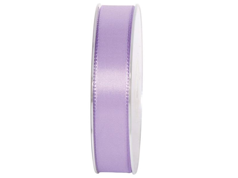 Dekoband Geschenkband Taftband Schleifenband- Länge 50m x25mm, Farbe Flieder