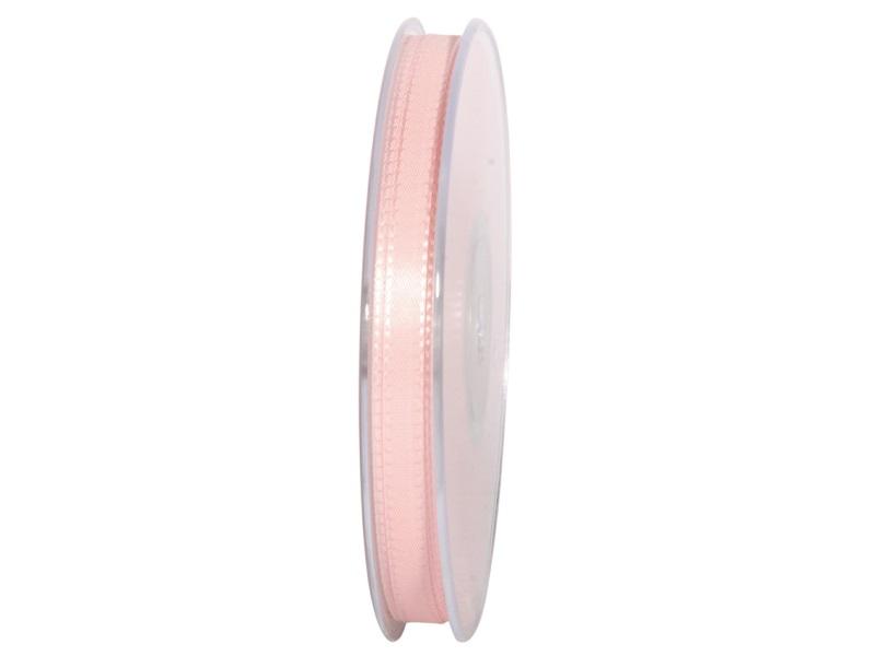 Dekoband Geschenkband Taftband Schleifenband - Länge 50m x 8mm, Farbe Rosa