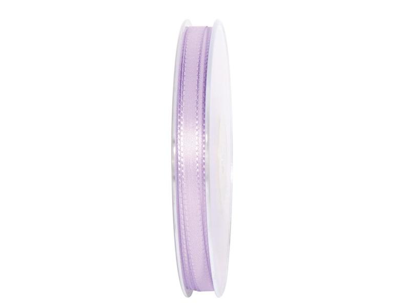 Dekoband Geschenkband Taftband Schleifenband - Länge 50m x 8mm, Farbe Flieder