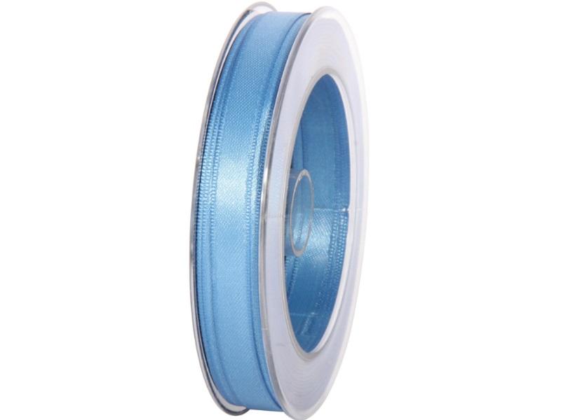Satinband - Dekoband Geschenkband - Länge 25m x  10mm Blau