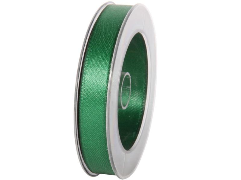 Satinband - Dekoband Geschenkband - Länge 25m x 15mm Dunkelgrün