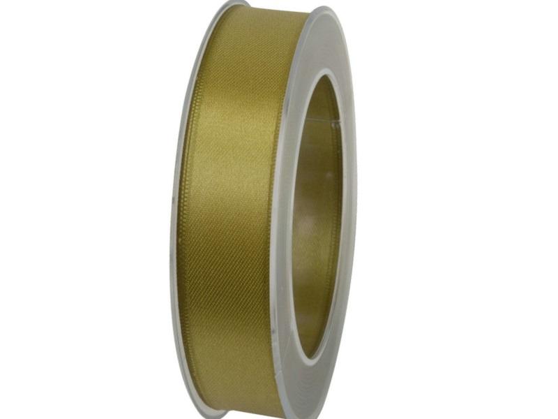 Satinband - Dekoband Geschenkband - Länge 25m x 25mm Oliv