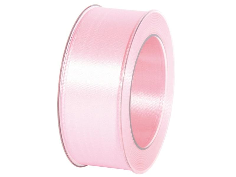 Satinband - Dekoband Geschenkband - Länge 25m x 40mm Rosa