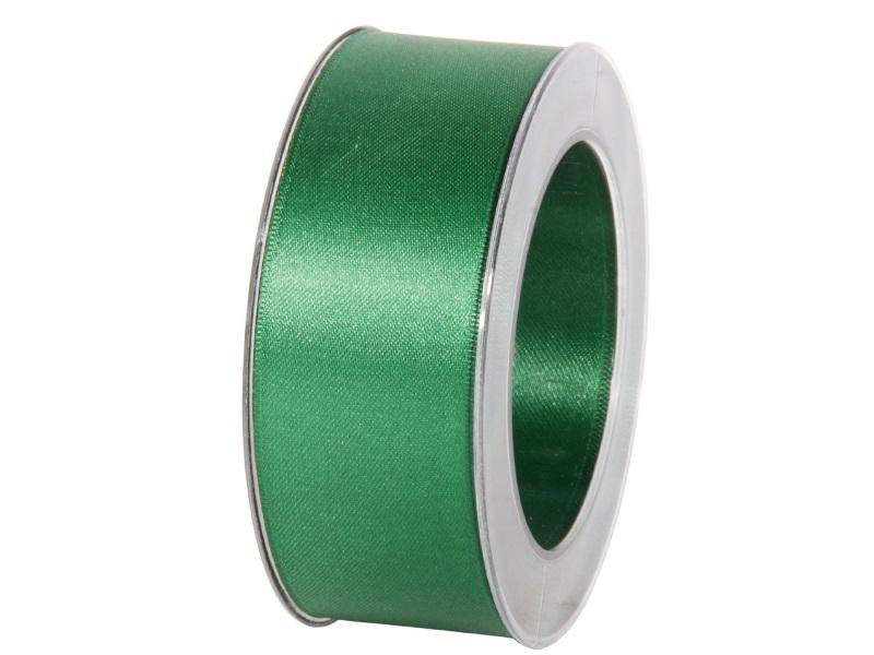 Satinband - Dekoband Geschenkband - Länge 25m x 40mm Dunkelgrün
