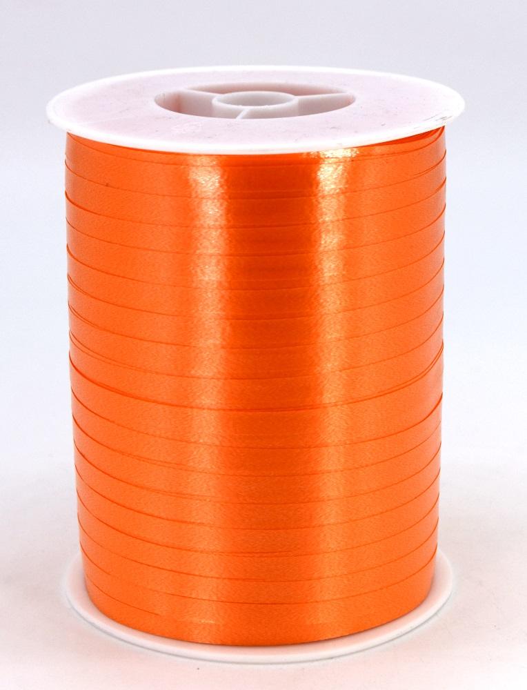 Geschenkband Ringelband Kräuselband 5mm x 500m Farbe Orange