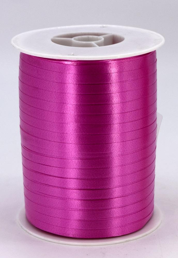 Geschenkband Ringelband Kräuselband 5mm x 500m Farbe Pink