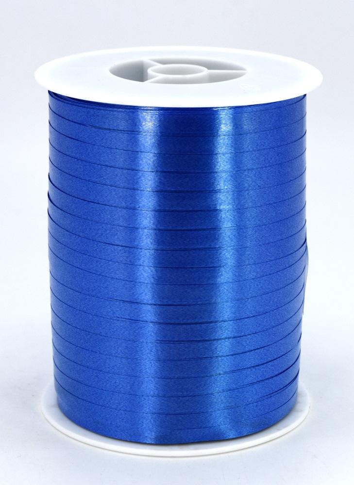 Geschenkband Ringelband Kräuselband 5mm x 500m Farbe Blau