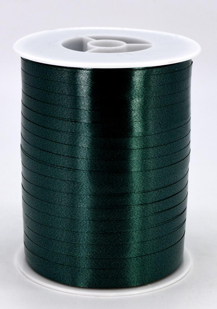 Geschenkband Ringelband Kräuselband 5mm x 500m Farbe Dunkelgrün