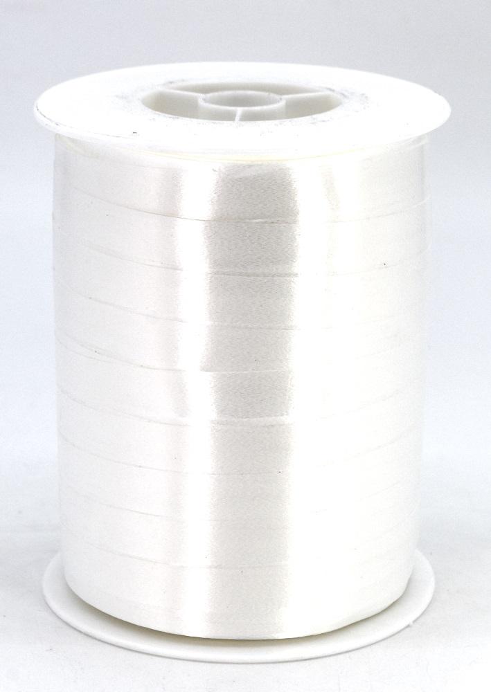 Geschenkband Ringelband Kräuselband 10mm x 250m Farbe Weiss