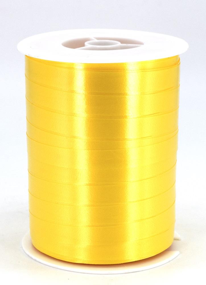 Geschenkband Ringelband Kräuselband 10mm x 250m Farbe Gelb