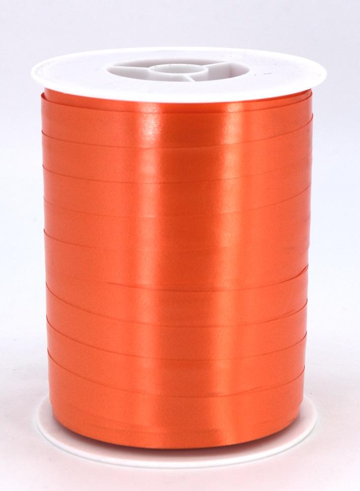 Geschenkband Ringelband Kräuselband 10mm x 250m Farbe Orange