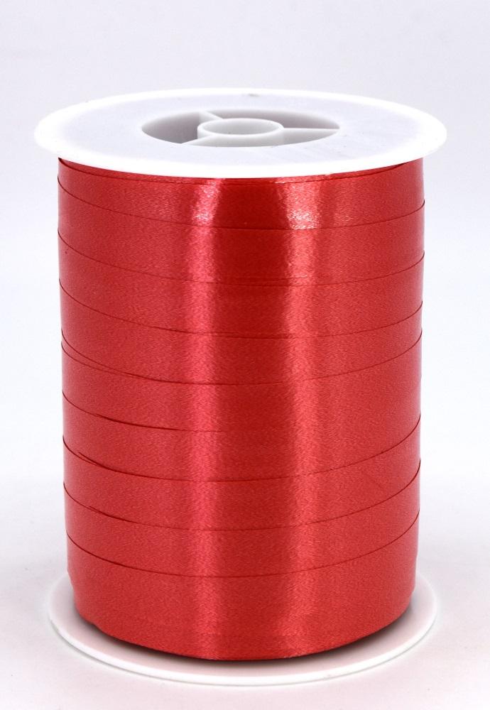 Geschenkband Ringelband Kräuselband 10mm x 250m Farbe Rot