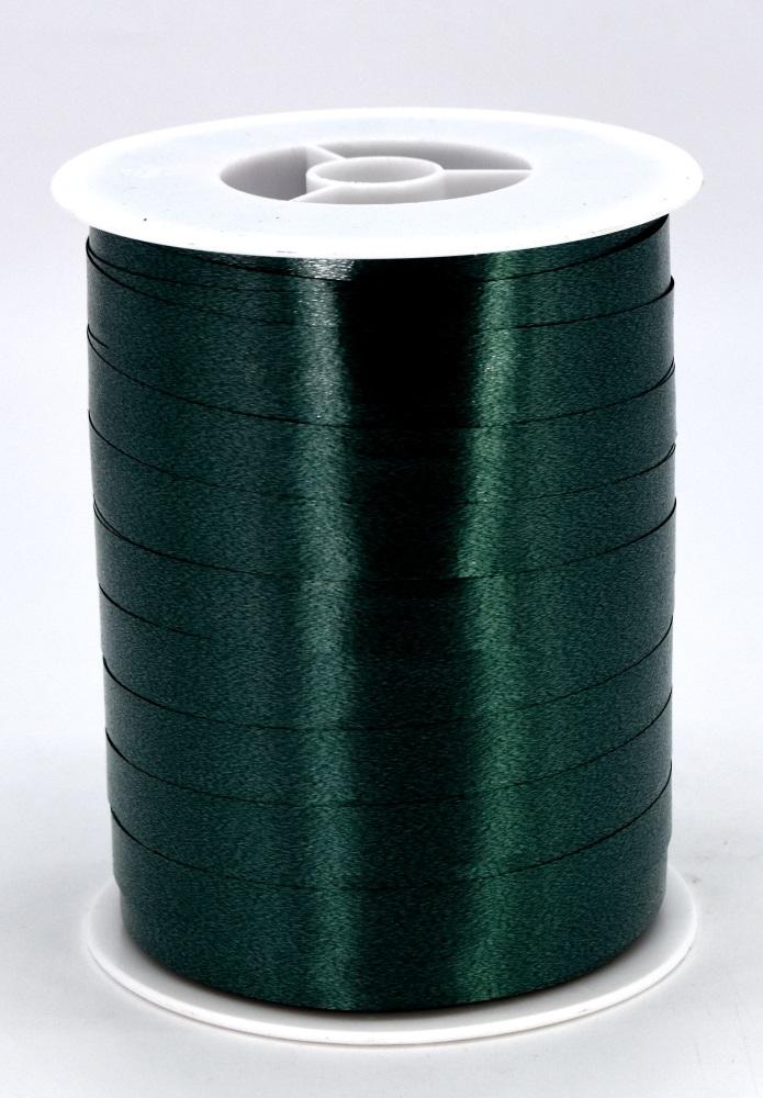 Geschenkband Ringelband Kräuselband 10mm x 250m Farbe Dunkelgrün