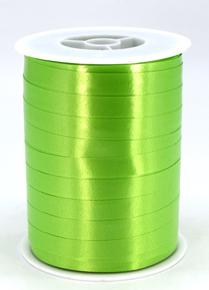 Geschenkband Ringelband Kräuselband 10mm x 250m Farbe Apfelgrün