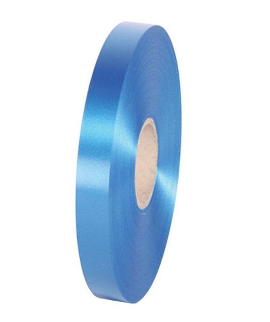 Geschenkband Kräuselband Ringelband 19mm 100m Farbe Blau
