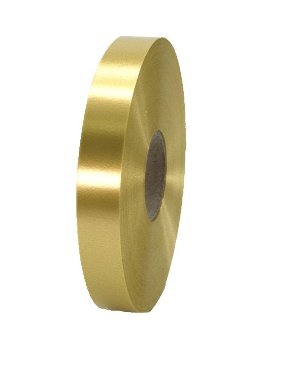 Geschenkband Kräuselband Ringelband 19mm 100m Farbe Farbe Gold