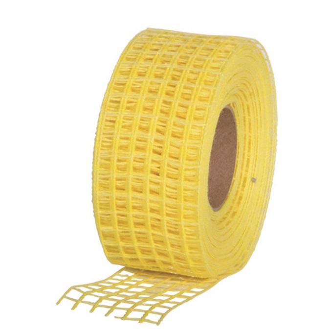 Gitterband 10mx4,5cm Juteband Schleifenband Geschenkband Farbe Gelb