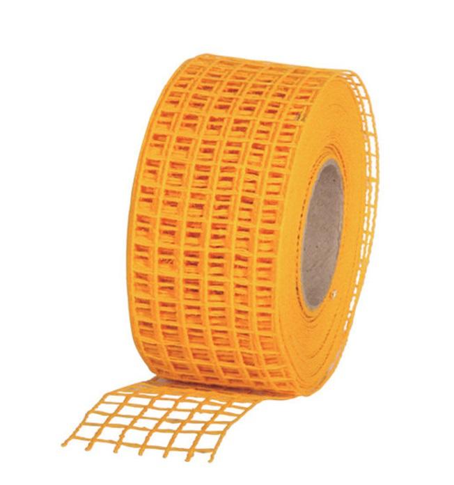 Gitterband 10mx4,5cm Juteband Schleifenband Geschenkband Farbe Orange
