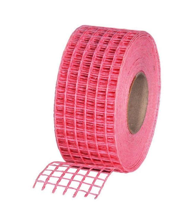 Gitterband 10mx4,5cm Juteband Schleifenband Geschenkband Farbe Pink